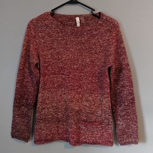Sweaters - Women's red sweater